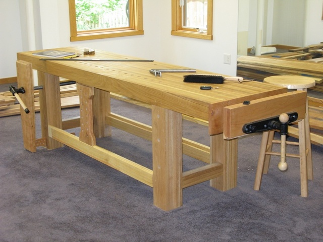 Столярный стол своими руками: верстак нужная вещь в хозяйстве