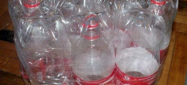 Пуфик из пластиковых бутылок: как сделать своими руками?