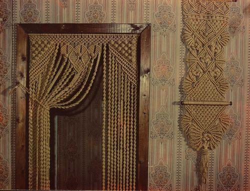 Шторы макраме: как пошить своими руками занавески для окон и дверей, схемы
