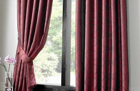 Подхваты для штор: фото в интерьере, как сшить своими руками, выкройки