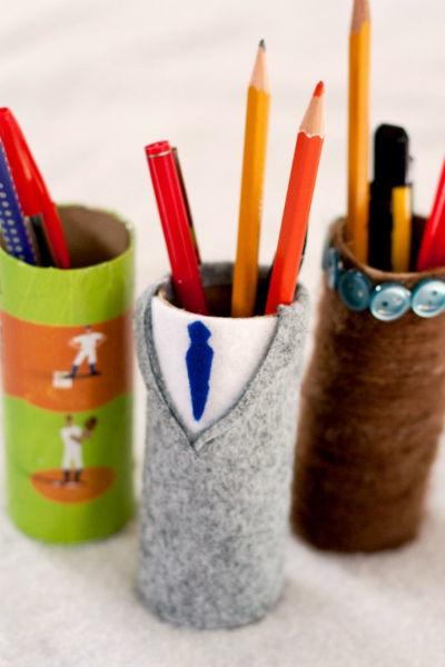 Подставка для карандашей из дерева, бумаги или картона: как сделать по чертежам