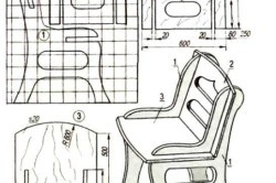 Делаем складной стул из фанеры своими руками: изготовление, декор