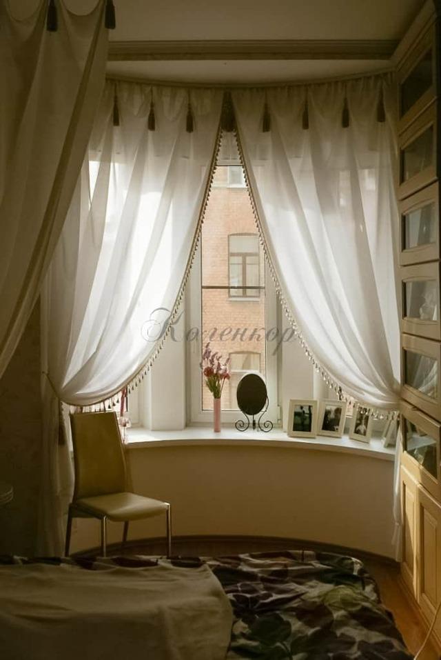 Как красиво подвязать шторы: варианты для кухни, как завязать тюль, фото