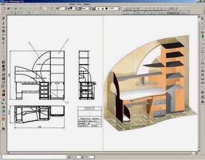 Основные этапы и правила самостоятельного проектирование мебели