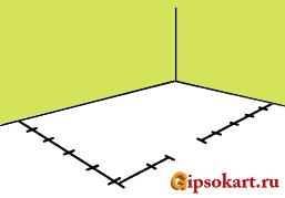 Перегородка из гипсокартона своими руками: разметка и монтаж