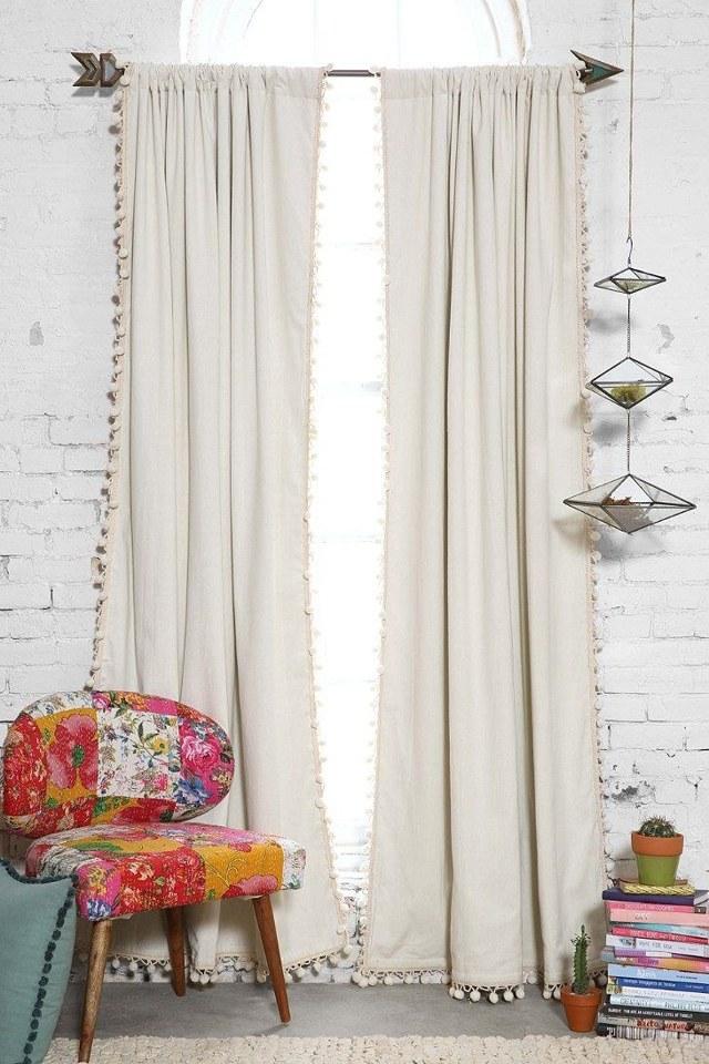 Дизайн штор для спальни: современное оформление, новинки, стильные гардины, фото