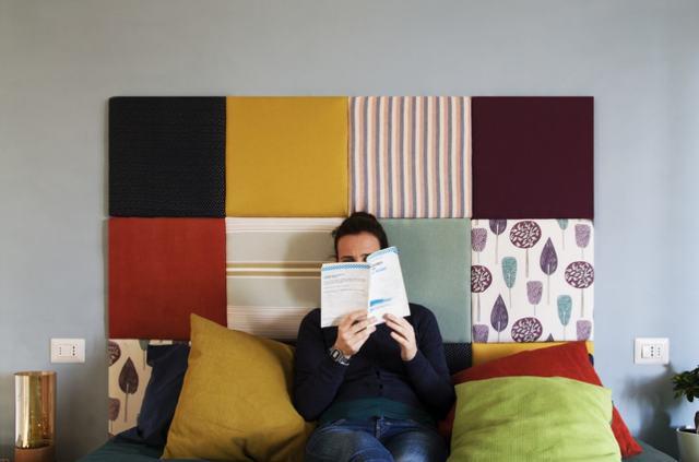 Мягкое изголовье кровати своими руками: Идеи, эффектные варианты