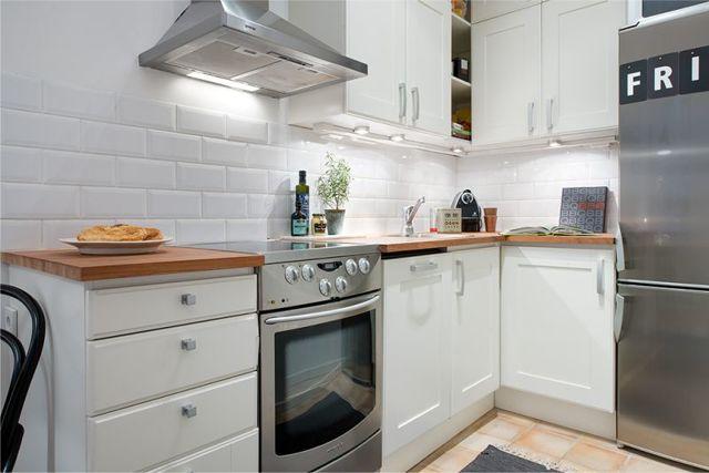 Размеры кухонных шкафов для разных типов планировки кухни