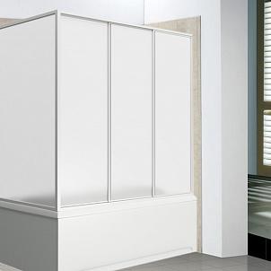 Шторка для ванной из стекла вместо занавески: раздвижные стеклянные шторы