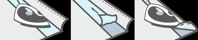 Шторы на кольцах: люверсная лента, как сделать кольца, имитация люверсов