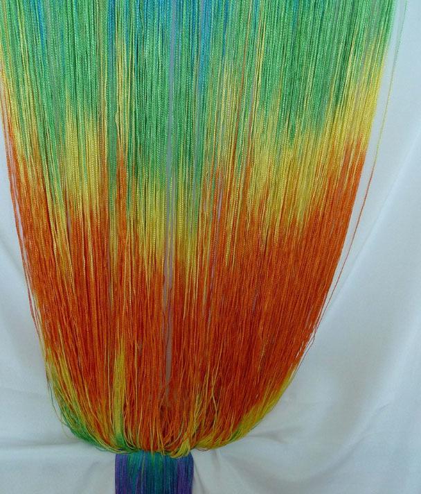 Шторы радуга: разноцветные, с цветочками, описание и фото в интерьере