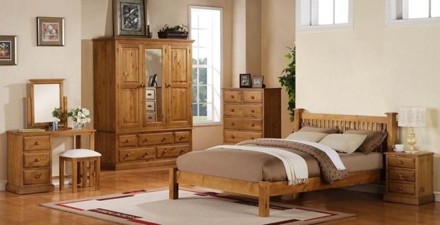 Кровати из массива сосны: преимущества и недостатки в 75 фото