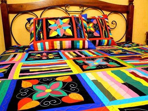 Как выбрать покрывало на двухспальную кровать: виды ткани и фото
