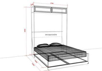 Шкаф-кровать: чертежи, схемы, инструкции по сборке своими руками