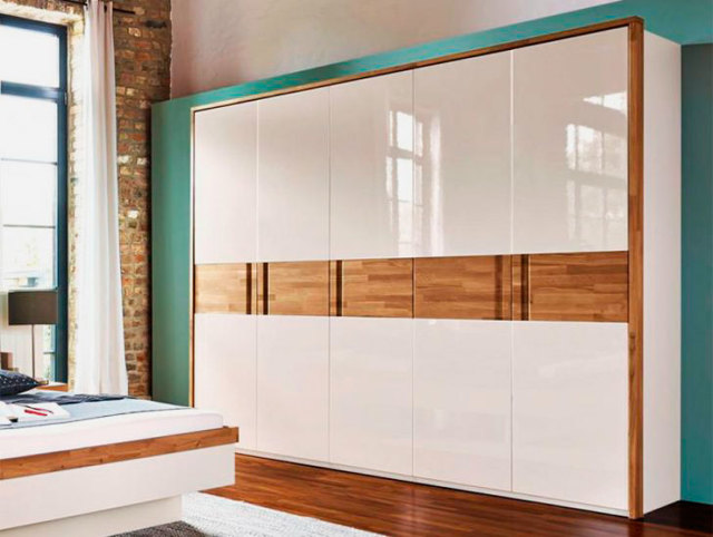Фасады для шкафов: выбор современного дизайна в 75 фото