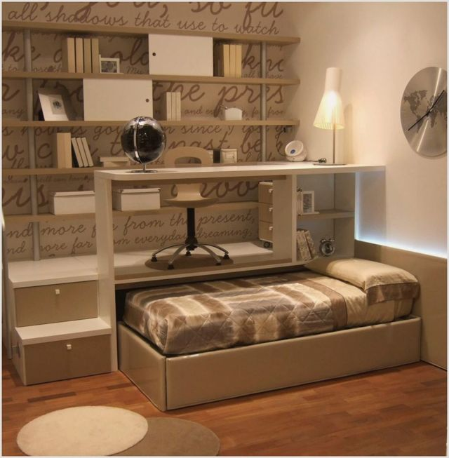 Подиум с выдвижной кроватью: виды и варианты использования