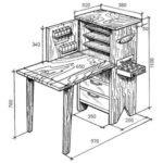 Маникюрный стол: технология изготовления в домашних условиях