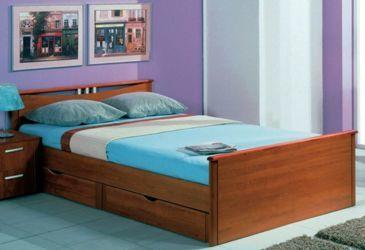 Кровать с выдвижными ящиками своими руками: инструкция, фото