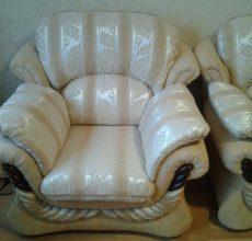 Перетягиваем кресло своими руками: пошаговая инструкция