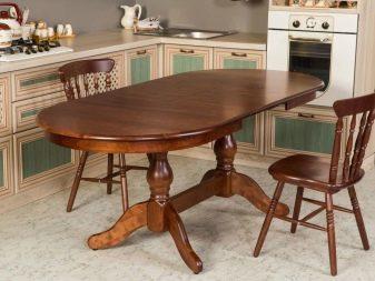 Размеры кухонного стола: как рассчитать и расположить в интерьере?