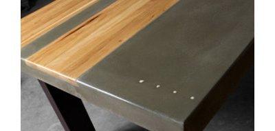 Столешница из бетона в интерьере: стильно, просто и долговечно