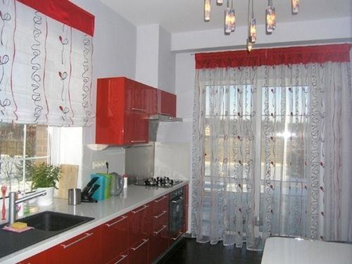 Пошив штор на кухню своими руками: фото с выкройкой, модели, пошаговое описание