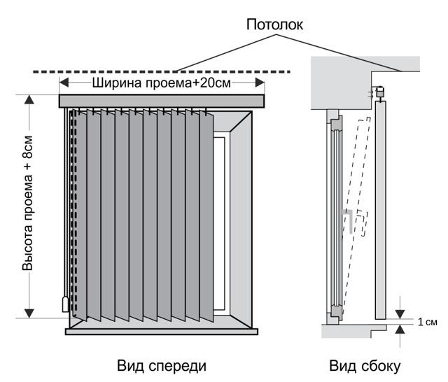 Рулонные шторы Зебра: кассетные мини рольшторы, монтаж на пластиковое окно