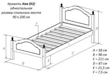 Делаем каркас для кровати своими руками: сборка и монтаж