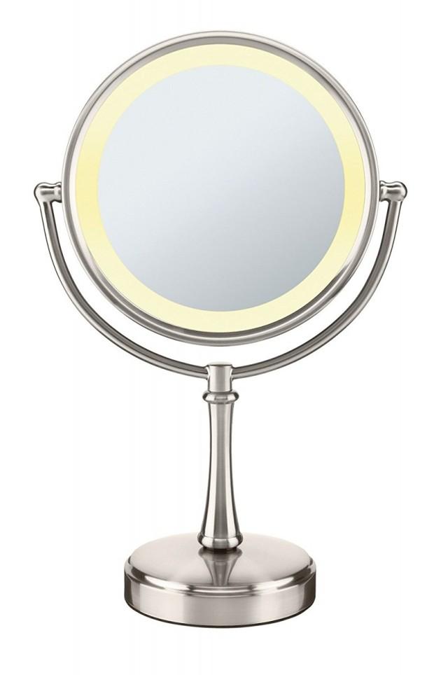 Гримерное зеркало: что собой представляет и какое бывает?