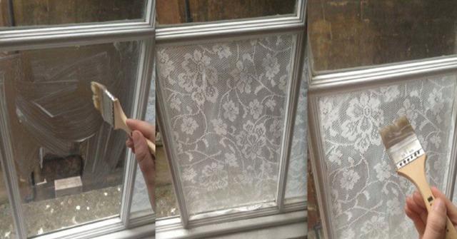 Как приклеить тюль на пластиковое окно с помощью крахмала: инструкция