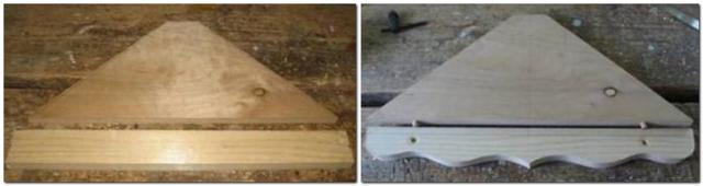 Делаем угловую полку своими руками: инструкция по изготовлению