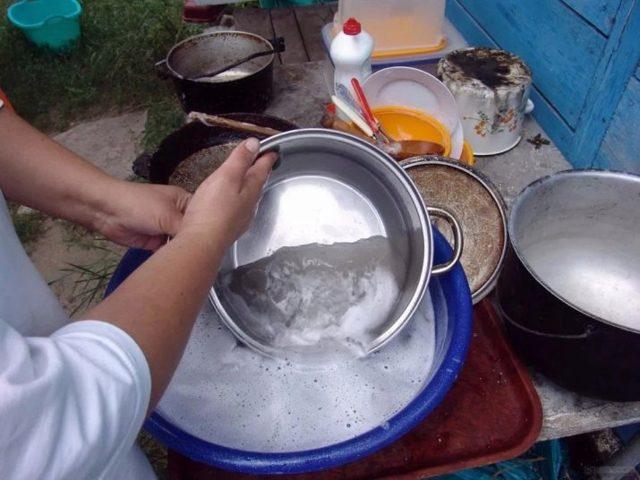 Как очистить алюминиевую кастрюлю внутри и снаружи в домашних условиях: как почистить от нагара до блеска, чем отмыть