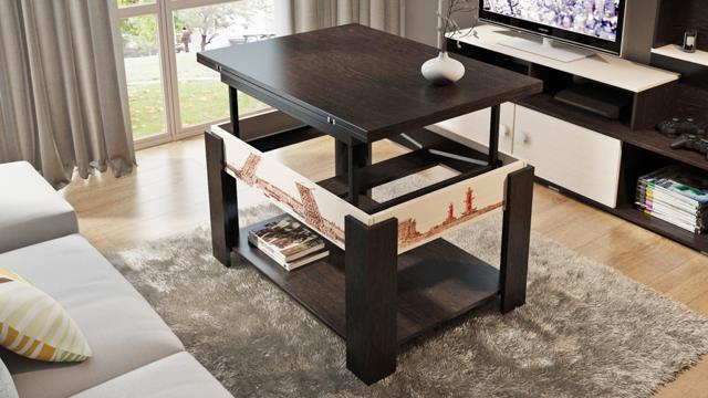 Как выбрать стол-трансформер: преимущества и недостатки в 75 фото