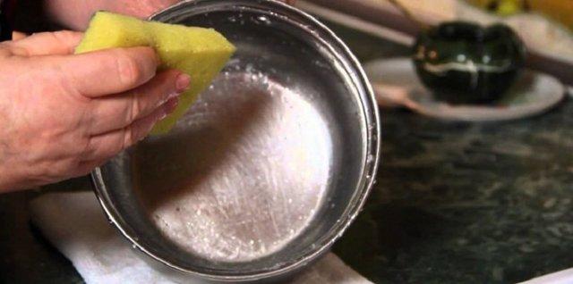 Как отмыть пригоревшую кастрюлю из нержавеющей стали внутри и снаружи в домашних условиях: чем очистить от нагара горелую нержавейку, народные способы