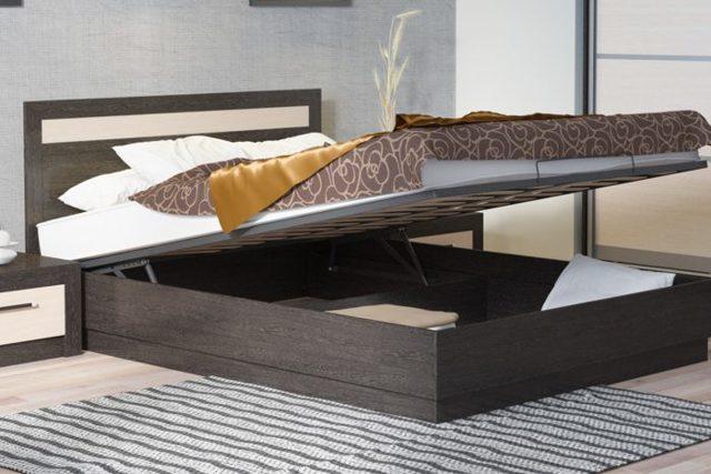 Как собрать кровать с подъемным механизмом своими руками