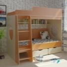 Двухъярусные кровати с бортиками для детей: обзор моделей с фото