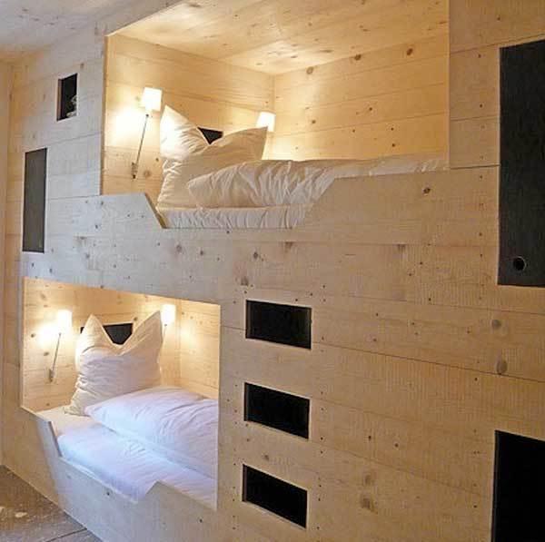 Правильно выбираем двухярусную кровать из дерева (75 фото вариантов)