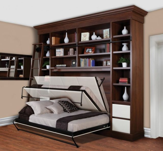 Мебель-трансформер для малогабаритных квартир: виды с фото