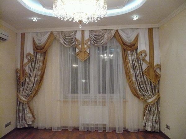 Как рассчитать ткань на шторы: коэффициент сборки, расчет по карнизу