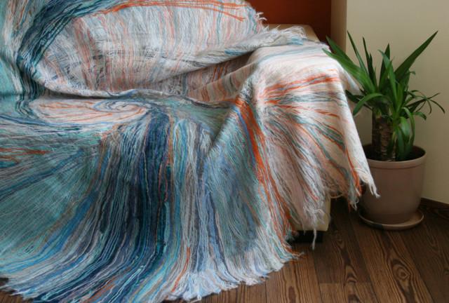 Покрывало на диван ручной работы: интересные идеи с фото