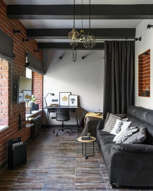 Расстановка мебели в узкой комнате: правильно зонируем комнату