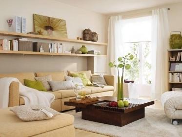 Как сделать полки над диваном: инструкция для изготовления