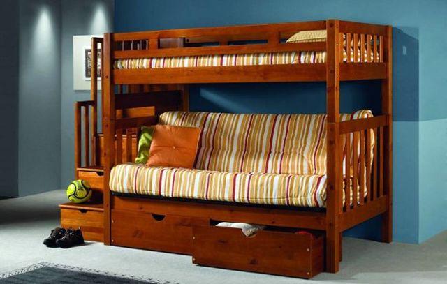 Подростковые двухъярусные кровати: в чем особенности выбора?