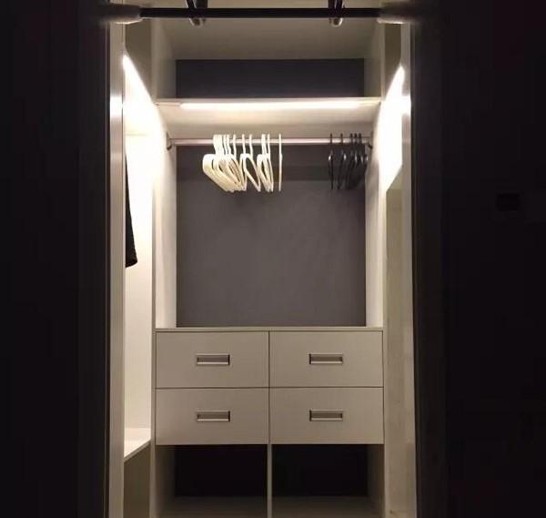 Подсветка шкафа-купе: главные особенности основных вариантов