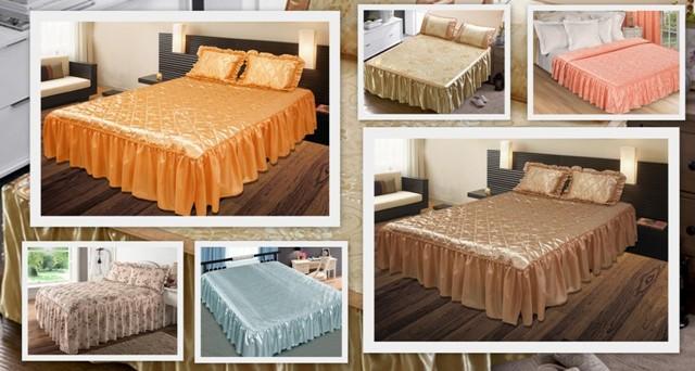 Покрывало на кровать - как правильно выбрать размер и стиль