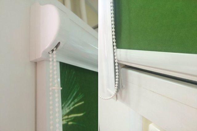 Рулонные шторы Уни 2: кассетные на пластиковые окна, отличие от uni 1, фото