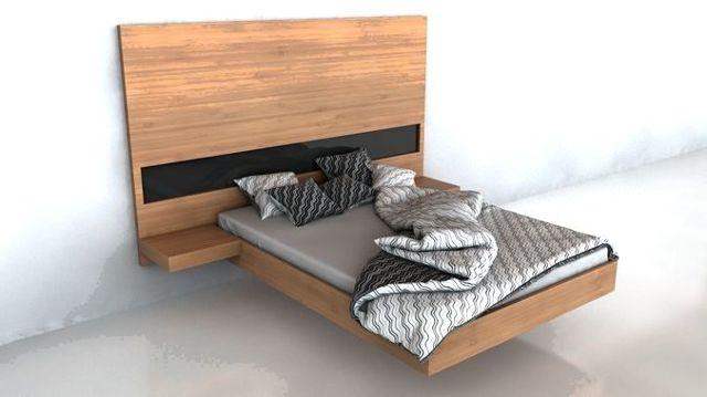 Парящая кровать: виды, плюсы и минусы применения в интерьере