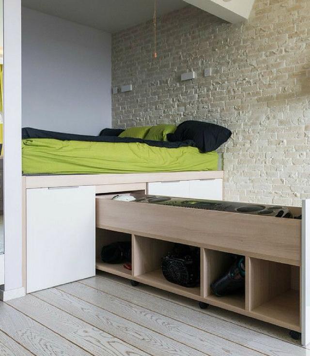 Детская кровать-тумба: современное решения экономии пространства