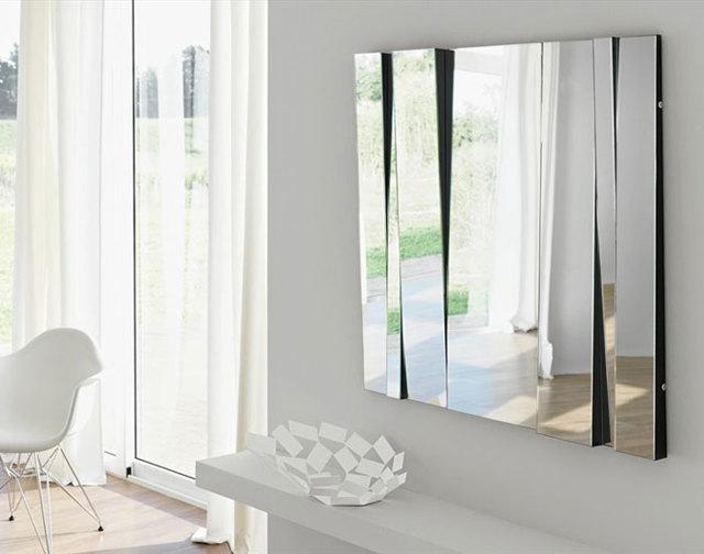 Большие и маленькие зеркала в интерьере квартиры: 75 фото-идей