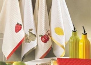Кухонные полотенца: удобные размеры и рекомендуемые ткани